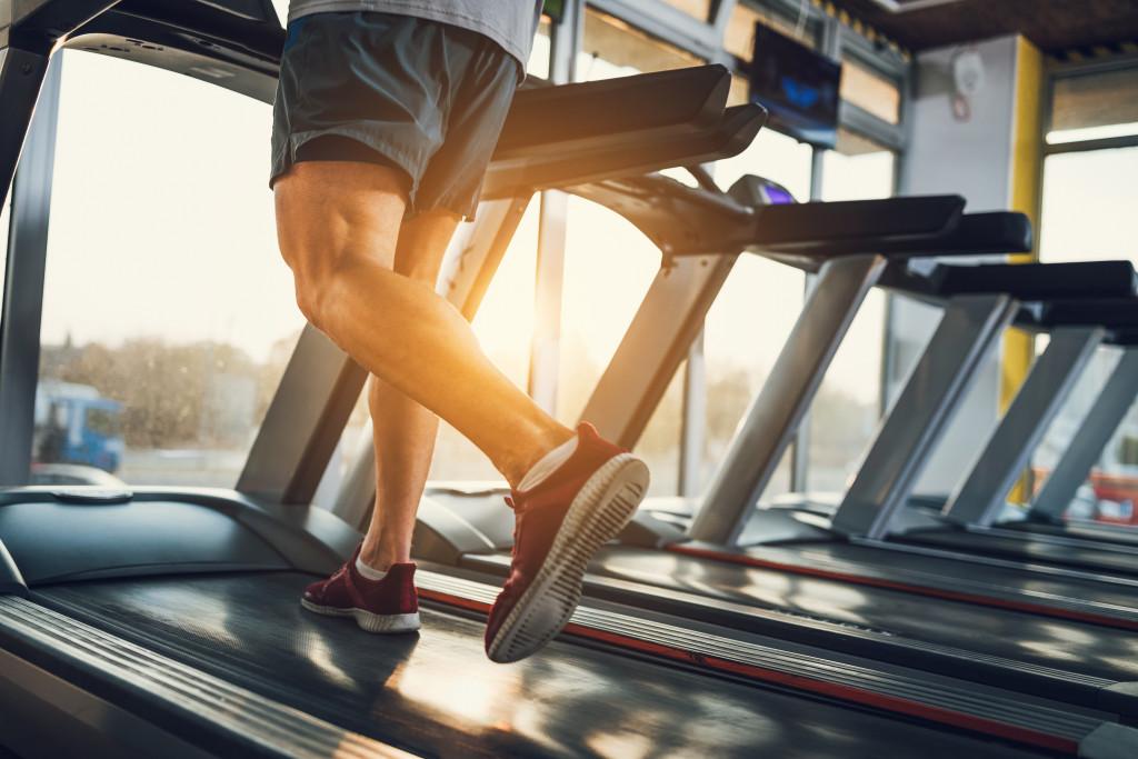 running in treadmill